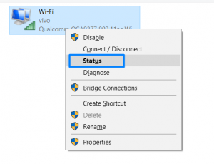 Find WiFi Password In Windows 10