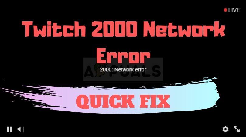 Twitch 2000 error