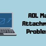 AOL mail problem