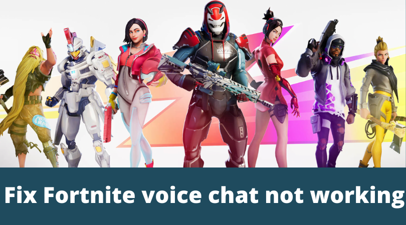 fortnite voice chat not working pc 2019