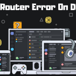 Fix No Router Error On Discord
