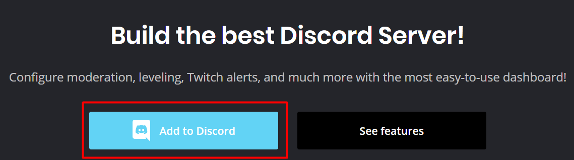 welcome bot for discord