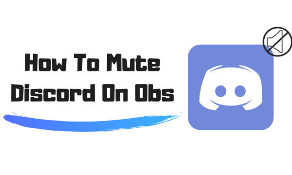 How To Mute Discord On Obs