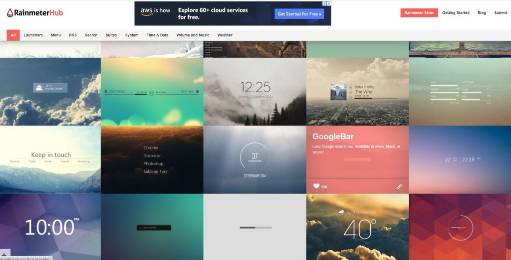 Best Sites to Download Rainmeter Skins