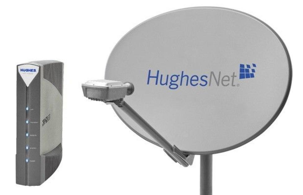 How contact HughesNet service