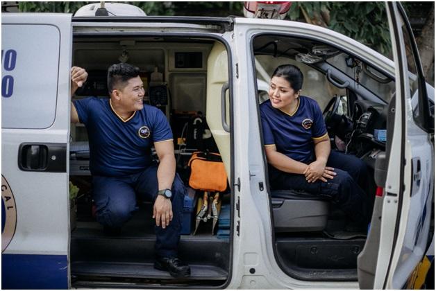 Jet suit for Paramedics