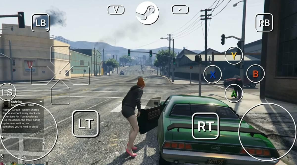 Crazy Playing GTA