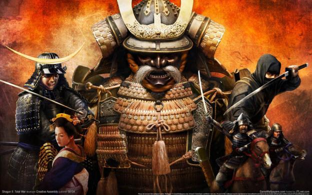 Total War: Shogun 2 (Samurai) games