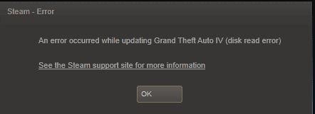 Fix Steam Disk Write Error